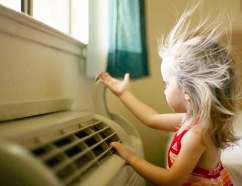 Những sai lầm cần tránh khi dùng máy điều hòa trong phòng có trẻ nhỏ